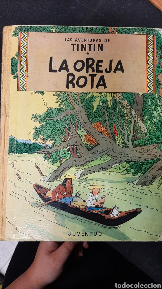 LA OREJA ROTA TINTIN JUVENTUD EDICION 1966 (Tebeos y Comics - Juventud - Tintín)