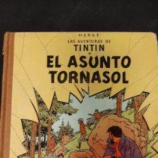 Cómics: LAS AVENTURAS DE TINTIN EL ASUNTO TORNASOL LOMO TELA DUODECIMA EDICION HERGE. Lote 257799570