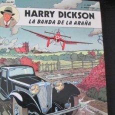 Cómics: HARRY DICKSON--LA BANDA DE LA ARAÑA. Lote 258124840