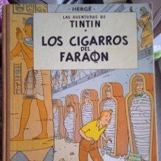 Fumetti: HERGE -LAS AVENTURAS DE TINITIN-LOS CIGARROS DEL FARAON-JUVENTUD-CUARTA EDICION 1972. Lote 258510325