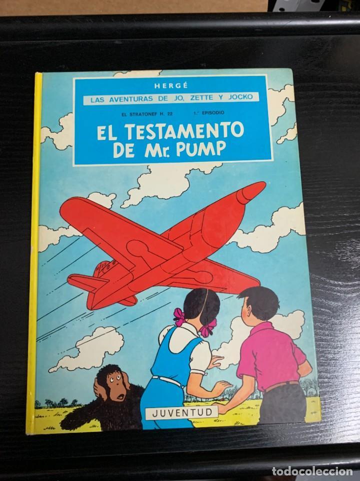 EL TESTAMENTO DE MR. PUMP, DE HERGÉ (Tebeos y Comics - Juventud - Otros)