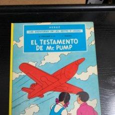 Cómics: EL TESTAMENTO DE MR. PUMP, DE HERGÉ. Lote 258969460