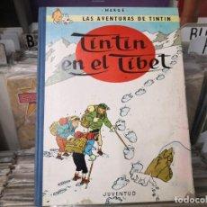 Comics : TINTIN EN EL TIBET - EDICIÓN DE 1965. Lote 259231210
