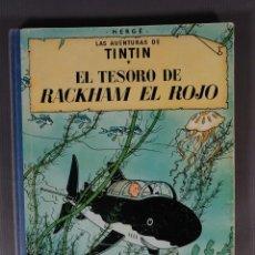 Fumetti: LAS AVENTURAS DE TINTIN, EL TESORO DE RACKHAM EL ROJO-HERGÉ-EDITORIAL JUVENTUD, CUARTA EDICIÓN 1971. Lote 259312030