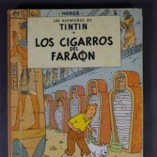 Fumetti: LAS AVENTURAS DE TINTIN, LOS CIGARROS DEL FARAÓN-HERGÉ-EDITORIAL JUVENTUD, TERCERA EDICIÓN 1968. Lote 259312170