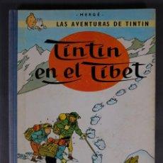 Fumetti: LAS AVENTURAS DE TINTIN, TINTIN EN EL TIBET-EDITORIAL JUVENTUD, TERCERA EDICIÓN 1967. Lote 259312480