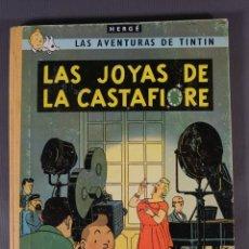 Fumetti: LAS AVENTURAS DE TINTIN, LAS JOYAS DE LA CASTAFIIORE-HERGÉ-EDITORIAL JUVENTUD TERCERA EDICIÓN 1968. Lote 259318620