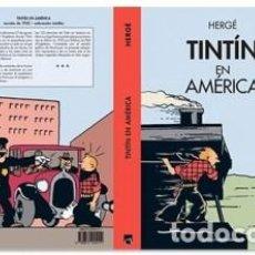 Fumetti: TINTIN EN AMERICA COLOREADO Y EN CASTELLANO. Lote 260455190