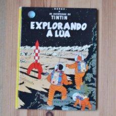 Cómics: TINTÍN - EXPLORANDO A LÚA ED.JUVENTUD 1ª EDICIÓN 1984 COMIC GALLEGO BANDA DESEÑADA GALICIA. Lote 261256415