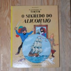 Cómics: TINTÍN - O SEGREDO DO ALICORNIO ED.JUVENTUD 1986 EN GALEGO COMIC GALLEGO BANDA DESEÑADA GALICIA. Lote 261258030