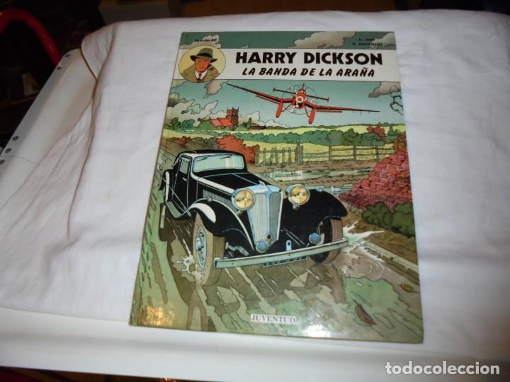 HARRY DICKSON.LA BANDA ARAÑA.Nº 1.EDIT JUVENTUD 1989 (Tebeos y Comics - Juventud - Otros)