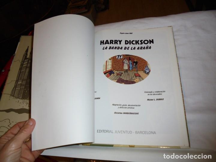 Cómics: HARRY DICKSON.LA BANDA ARAÑA.Nº 1.EDIT JUVENTUD 1989 - Foto 3 - 261629025