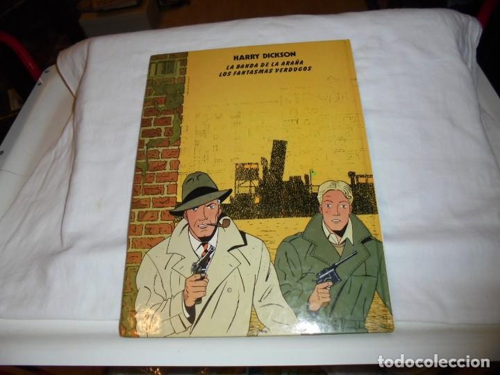 Cómics: HARRY DICKSON.LA BANDA ARAÑA.Nº 1.EDIT JUVENTUD 1989 - Foto 6 - 261629025