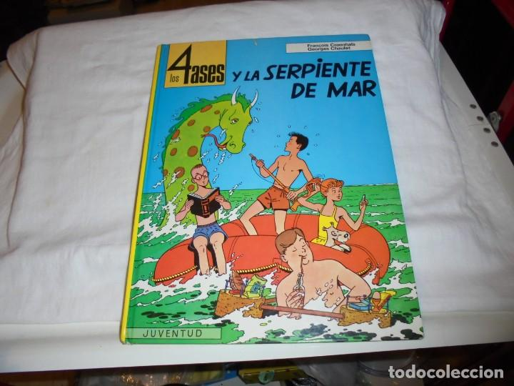 LOS 4 ASES Y LA SERPIENTE DE MAR Nº 1 .EDIT JUVENTUD 1992.-1ª EDICION (Tebeos y Comics - Juventud - Otros)