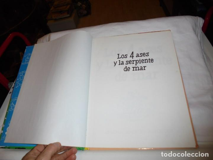 Cómics: LOS 4 ASES Y LA SERPIENTE DE MAR Nº 1 .EDIT JUVENTUD 1992.-1ª EDICION - Foto 3 - 261630100