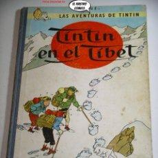 Cómics: TINTIN EN EL TIBET, HERGÉ, LOMO DE TELA, ED. JUVENTUD AÑO 1965. Lote 261649140