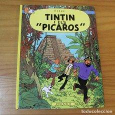 Cómics: TINTIN I ELS PICAROS, HERGE. JOVENTUT 1999 TAPA DURA EN CATALA. Lote 261891020