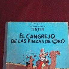 Cómics: EL CANGREJO DE LAS PINZAS DE ORO.. Lote 262068485