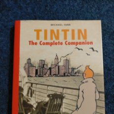 Cómics: TINTIN - INGLES - THE COMPLETE COMPANION - MICHAEL FARR. Lote 262549275