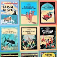 Cómics: TINTIN COLECCIÓN COMPLETA CIRCULO DE LECTORES, EDITORIAL JUVENTUD. Lote 262792070