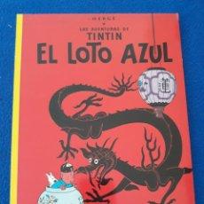 Cómics: LAS AVENTURAS DE TINTIN - EL LOTO AZUL - HERGÉ - TAPA BLANDA, JUVENTUD. Lote 263014485