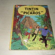 Cómics: TINTIN Y LOS PICAROS - PRIMERA EDICIÓN 1976 - TAPA BLANDA - HERGE - EDITORIAL JUVENTUD. Lote 263076555