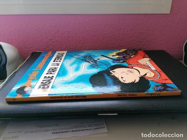 Cómics: Yoko Tsuno ( de Roger Leloup) Tomo nº5 : MENSAJE PARA LA ETERNIDAD - Foto 3 - 255534555