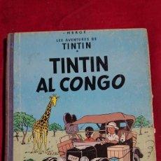 Cómics: TINTIN AL CONGO PRIMERA EDICION EN CATALAN AÑO 1969. Lote 263277465