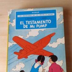 Cómics: LAS AVENTURAS DE JO., ZETTE Y JOCKO. EL TESTAMENTO DE MR. PUMP. Lote 263365695
