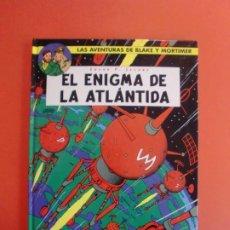 Cómics: EL ENIGMA DE LA ATLÁNTIDA BLAKE Y MORTIMER Nº 4 NORMA EDITORIAL 1ª EDIC. 2001. Lote 263541050