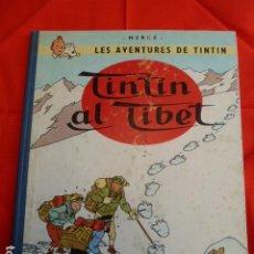 Cómics: TINTIN AL TIBET -EN CATALAN -2 EDICION 1970. Lote 263790905