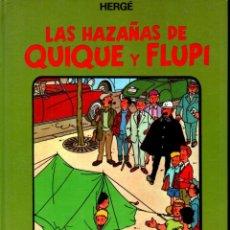 Cómics: HERGÉ : LAS HAZAÑAS DE QUIQUE Y FLUPI ALBUM 5 (JUVENTUD, S.F.) COMO NUEVO. Lote 264198392