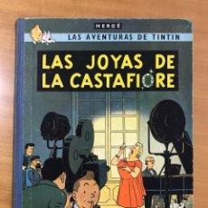 Cómics: TINTIN LAS JOYAS DE LA CASTAFIORE ED. JUVENTUD 1ª EDICION DE 1964. Lote 265473534