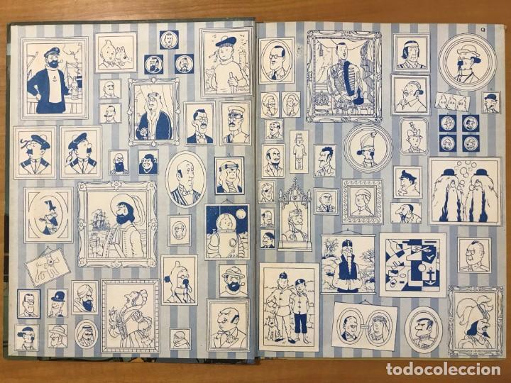 Cómics: TINTIN LAS JOYAS DE LA CASTAFIORE ED. JUVENTUD 1ª EDICION DE 1964 - Foto 4 - 265473534