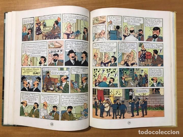 Cómics: TINTIN LAS JOYAS DE LA CASTAFIORE ED. JUVENTUD 1ª EDICION DE 1964 - Foto 11 - 265473534