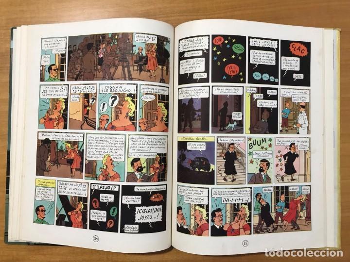 Cómics: TINTIN LAS JOYAS DE LA CASTAFIORE ED. JUVENTUD 1ª EDICION DE 1964 - Foto 12 - 265473534