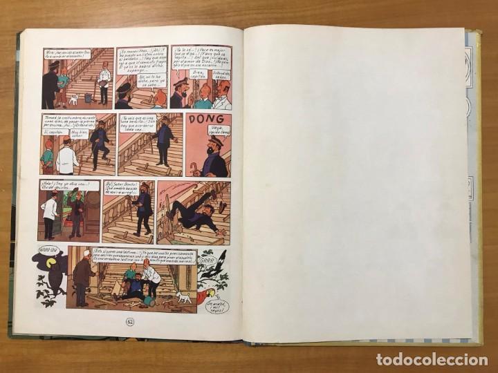 Cómics: TINTIN LAS JOYAS DE LA CASTAFIORE ED. JUVENTUD 1ª EDICION DE 1964 - Foto 14 - 265473534
