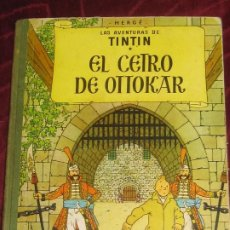 Cómics: EL CETRO DE OTTOKAR LAS AVENTURAS DE TINTIN HERGE EDITORIAL JUVENTUD ANO 1964 SEGUNDA EDICION. Lote 265710624