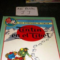 Cómics: DOBLE ALBUM CÓMIC LAS AVENTURAS DE TINTIN LAS JOYAS DE CASTAFIORE TINTIN EN EL TÍBET TAPA DURA. Lote 266015108