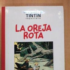 Comics : LAS AVENTURAS DE TINTIN REPORTERO / LA OREJA ROTA / 1ªED.1994. JUVENTUD. Lote 266123683