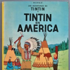 Fumetti: 1979.- TINTIN EN AMERICA. LAS AVENTURAS DE TINTIN. JUVENTUD. Lote 266213368