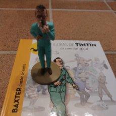 Fumetti: FIGURA DE RESINA COLECCION TINTIN - BAXTER EL DIRECTOR DE LA BASE Nº 26 - MOULINSART 2014 .. Lote 266772269
