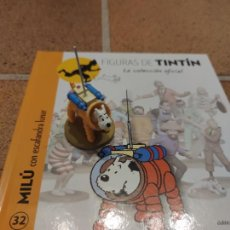 Cómics: FIGURA DE RESINA COLECCION TINTIN - MILU CON ESCAFANDRA LUNAR Nº 32 - MOULINSART 2014 .. Lote 266777629