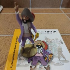 Fumetti: FIGURA DE RESINA COLECCION TINTIN - EL CABALLERO FRANCISCO DE HADOQUE Nº 44 - 13CM MOULINSART 2014 .. Lote 266790544