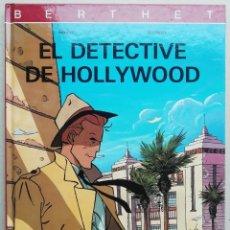 Comics : EL DETECTIVE DE HOLLYWOOD. HOLLYWOOD. RIVIÈRE - BOCQUET. JUVENTUD, 1992. TAPA DURA. MUY BUEN ESTADO. Lote 266885584