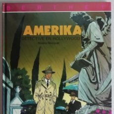Cómics: EL DETECTIVE DE HOLLYWOOD. AMERIKA. RIVIÈRE - BOCQUET. JUVENTUD, 1993. TAPA DURA. MUY BUEN ESTADO. Lote 266886109