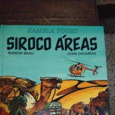 Comics: SIROCCO ÁREAS - BRAU / ZACARIAS - RAMBLA TOURSN - EDITORIAL JUVENTUD 1993. Lote 267008464
