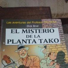 Comics: EL MISTERIO DE LA PLANTA TAKO - LAS AVENTURAS DEL PROFESOR PALMERA - DICK BRIEL - JUVENTUD 1990. Lote 267011419