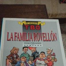 Comics: LA FAMILIA ROVELLÓN - LOS ARCHIVOS DE TBO - SEMPERE - GRUPO Z 1990. Lote 267011809