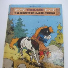 Cómics: YAKARI 6 - YAKARI Y EL SECRETO DE HIJO DE TRUENO DERIB+JOB. JOVENTUD TAPA DURA ARX106. Lote 267397304